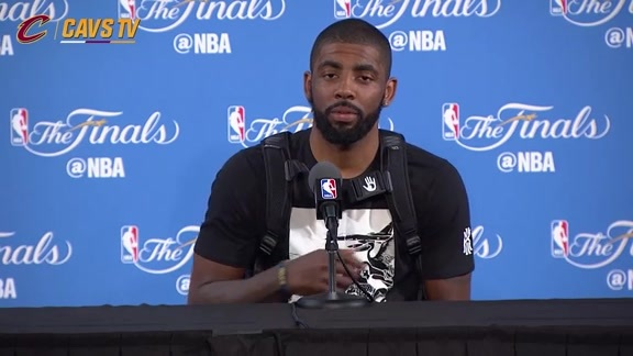 Finals Media Availability: Kyrie Irving - June 3, 2016