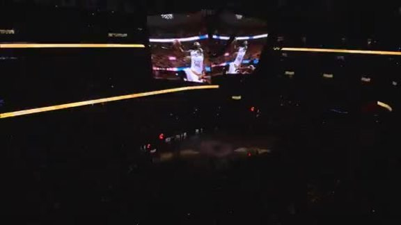 Go Inside The Q Right Before Player Intros