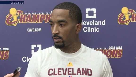 Practice: J.R. Smith – October 17, 2016