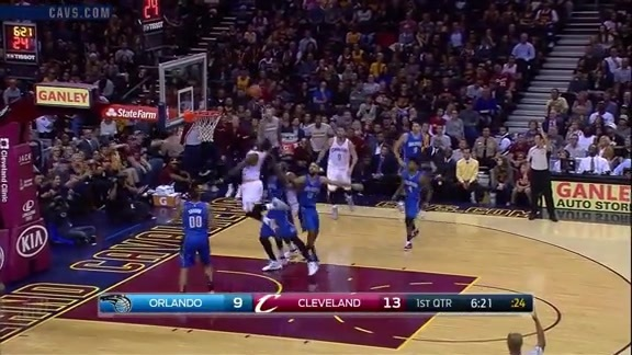 Swish with the Power Putback - October 29, 2016