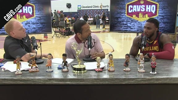 Jae Crowder Joins the CavsHQ Set