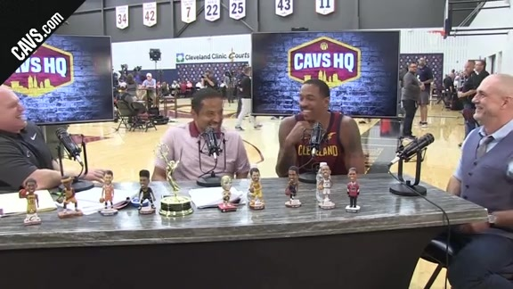 Channing Frye's Interview with CavsHQ