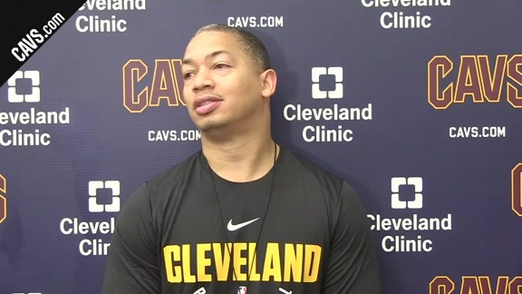 Training Camp Day 1: Coach Lue