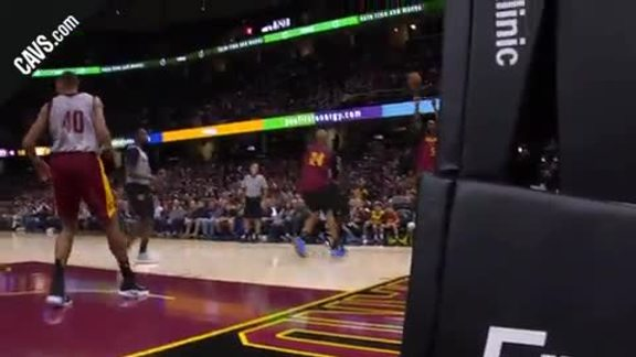 J.R. Swishes the Three from the Corner - October 2, 2017