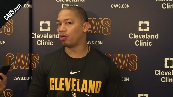 Training Camp Day 8: Coach Lue