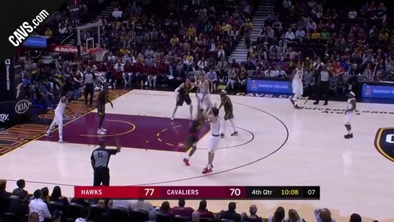 Cedi Knocks Down the Triple - October 4, 2017