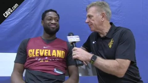 Cavs.com 1-on-1 with Dwyane Wade