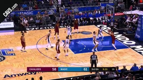 Zizic with the Up-and-Under - October 13, 2017