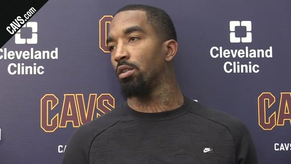 Practice: J.R. Smith - October 16, 2017