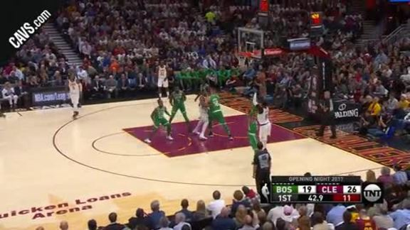 DWade Nets the Jumper Plus One - October 17, 2017