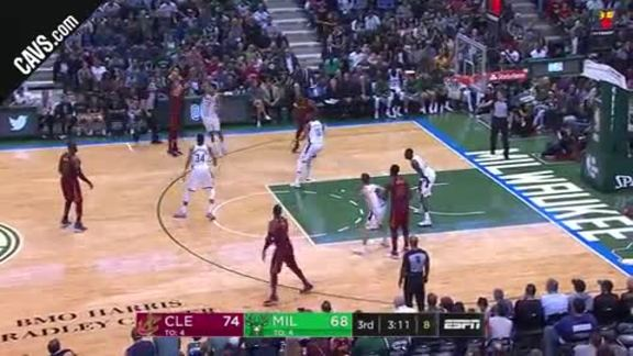 Korver with Three Straight Triples - October 20, 2017