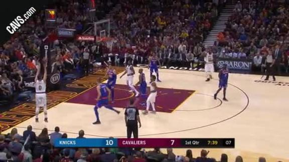 LBJ Assists on KLove's Three