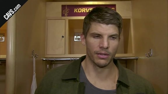 #CavsKnicks Postgame: Kyle Korver - October 29, 2017