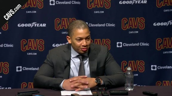 #CavsKnicks Postgame: Coach Lue - October 29, 2017
