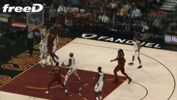 Highlight in freeD: Green with the Crazy Dunk