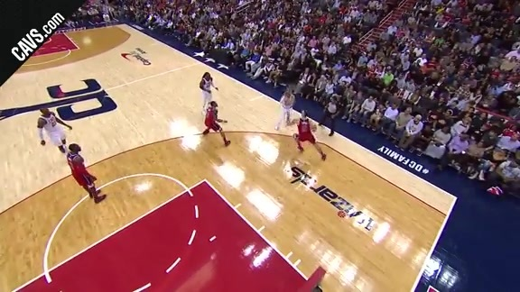 Great Ball Movement Leads to Korver Triple