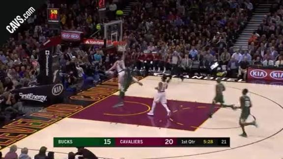 KLove Steals and Drives for the And-One