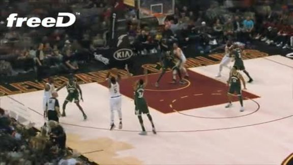 Highlight in freeD: JR Drops in a Three