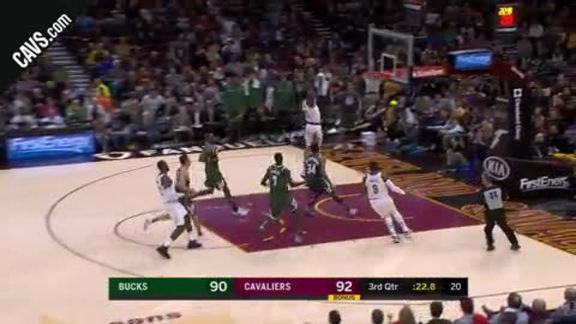 Jeff Green Throws Down the Hammer