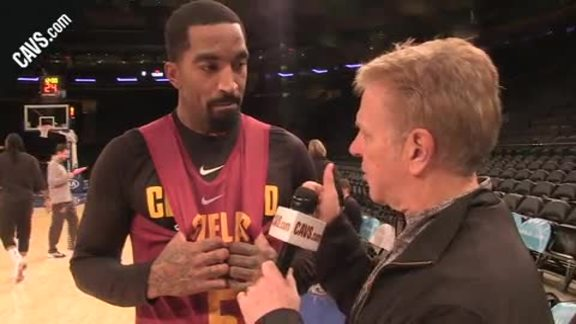 #CavsKnicks Shootaround: 1-on-1 w/ JR Smith