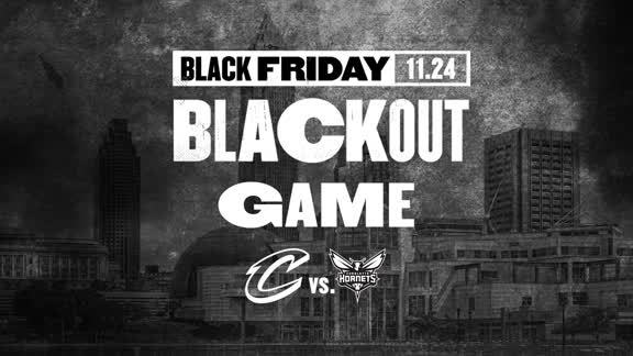 Black Out Friday Against the Hornets on November 24th