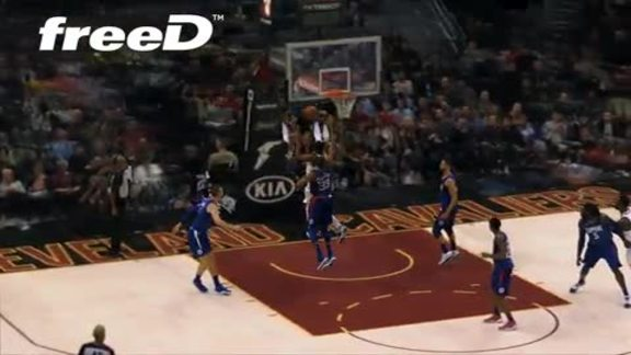 Highlight in freeD: Dwyane Wade Drives