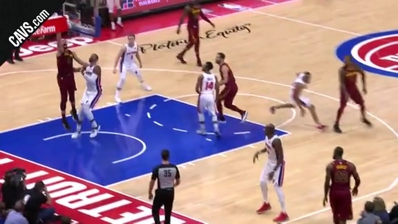 LBJ Finds KLove for the Bucket