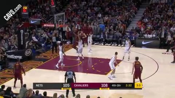 Featured Highlight: LBJ with the Tough And-One