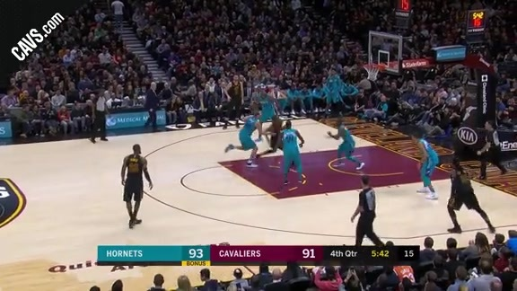 Swish Finishes Drive with Silky Lay Up