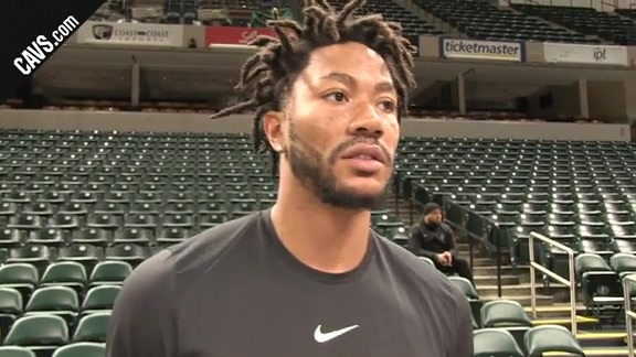 Derrick Rose Gives an Update on His Status