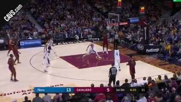 Featured Highlight: JR Tosses Dime to LBJ