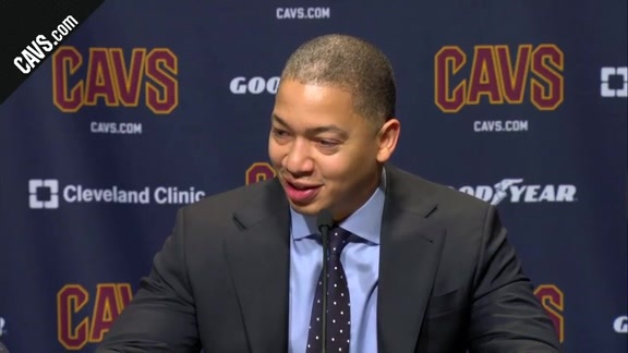#CavsSixers Postgame: Coach Lue - December 9, 2017