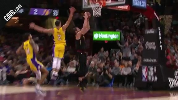 KLove with the Reverse Layup