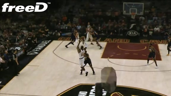 Highlight in freeD: Love's Slick Layup
