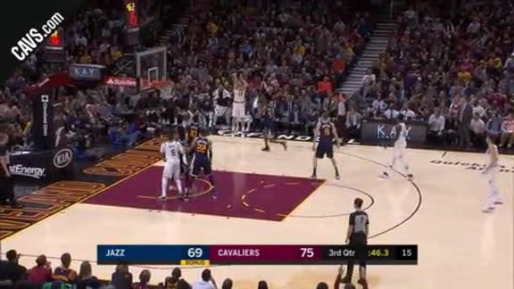 Cedi Nails a Trey from the Corner