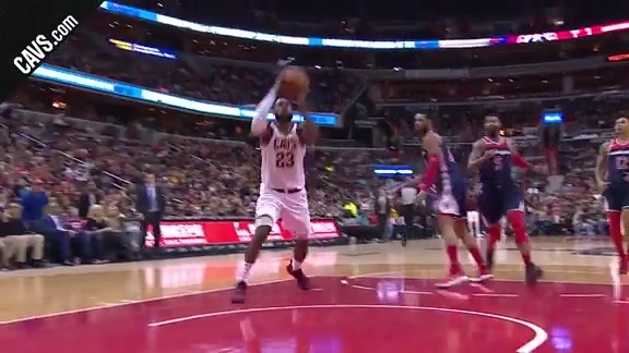 LBJ Spins and Scores