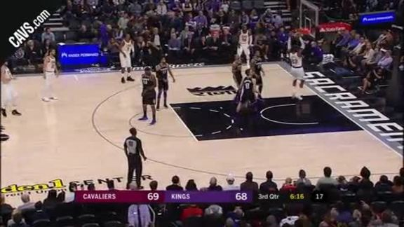 LeBron with the Two-Hand Jam