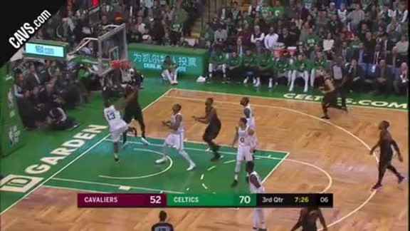 LBJ Spins for the Slam