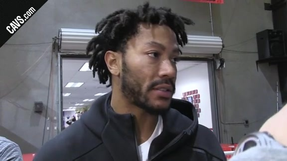 DRose Gives an Update on His Status
