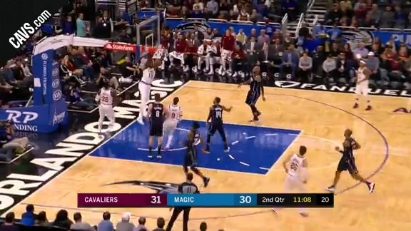 DWade with the Lob to TT