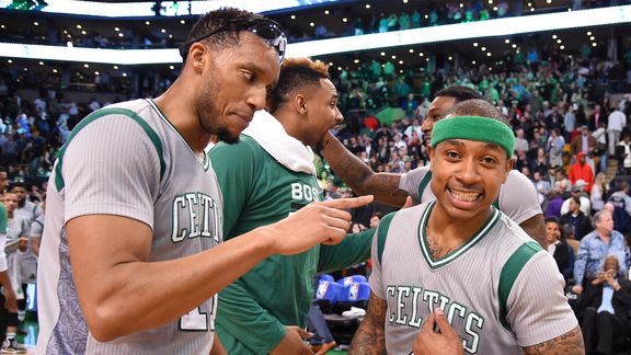 A Celtics Night to Remember