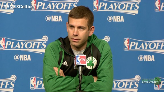 4/24 Stevens Presser: Olynyk Available