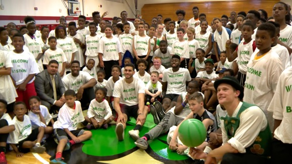 Rookies Visit Madison Park Athletic Complex