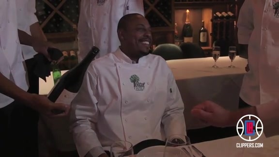 Paul Pierce at Chris Paul's Celebrity Dinner