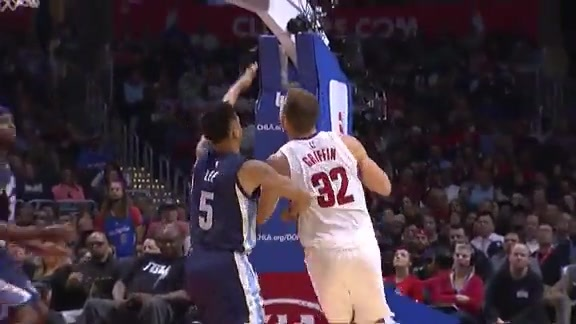 Grizzlies vs Clippers First Half Highlights - 11/09/15