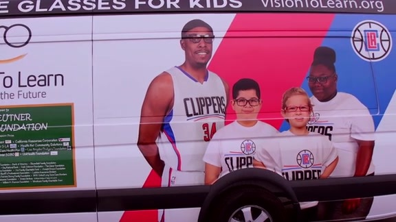 Vision To Learn - L.A. Clippers Foundation