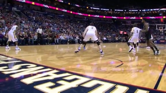 Clippers vs Pelicans First Half Highlights - 3/20/16