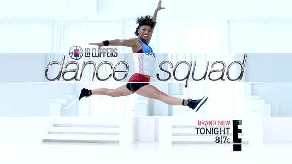 LA Clippers Dance Squad Preview - April 14, 2016