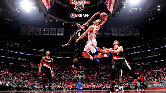 Clippers vs Trail Blazers Full Highlights - 4/20/16