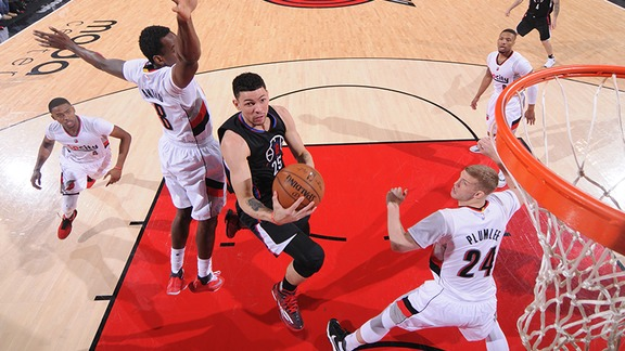 Clippers vs Trail Blazers Full Highlights - 4/29/16